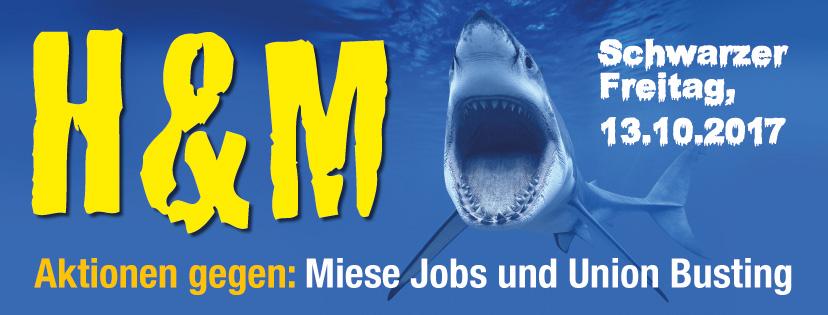 Aktionstag Gegen Arbeitsunrecht Und Union Busting Bei Hm Arket Und